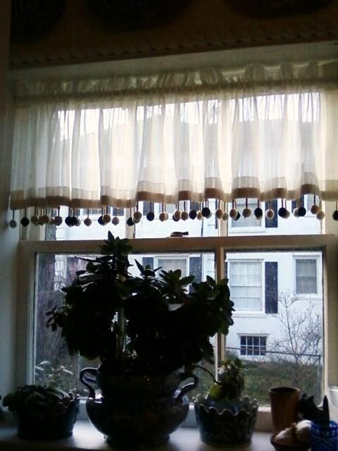 Whimsical Kitchen Window Valance
