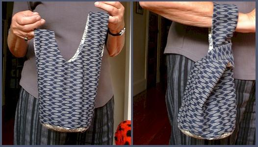 Free Japanese Knot Handbag Tutorial & Pattern
