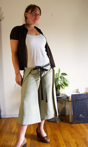 Easy Breezy Wrap Pants - Free Sewing Tutorial