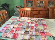 Rag quilts for baby gifts