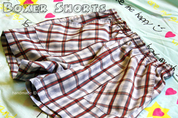 A Free Sewing Pattern for Boxer Shorts from craftpassion