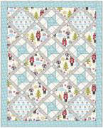 Free Snowflake Ballet Waltz Quilt Pattern
