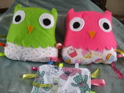 Bird Plushies - Owls, Chicks,