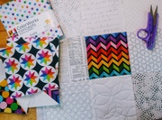 Modern Patchwork + Free Motion Quilting