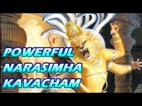 Powerful Narasimha kavacham नृसिंहा कवच