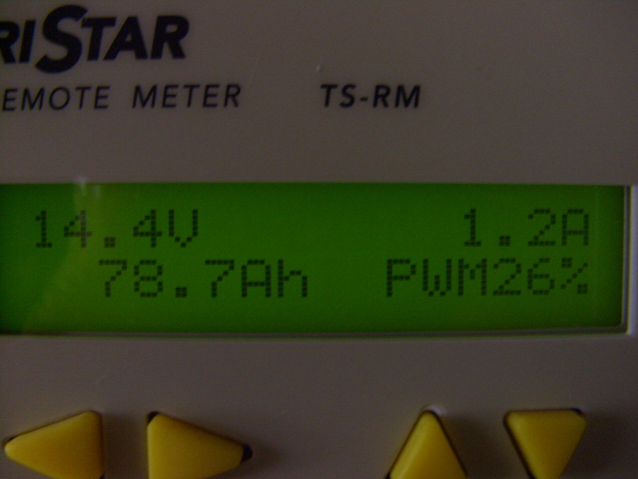 Tristar Charge Controller