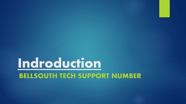Bellsouth Tech Support Number