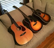 Some of Elwood Smith's Acoustic Instruments