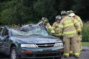 PEMBROKE FIRE DEPARTMENT AUTO EXTRICATION TRAINING