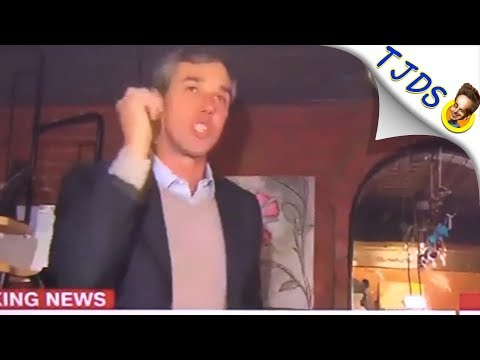 Beto O'Rourke Launches Platitude Campaign For President (Real actual comedy)