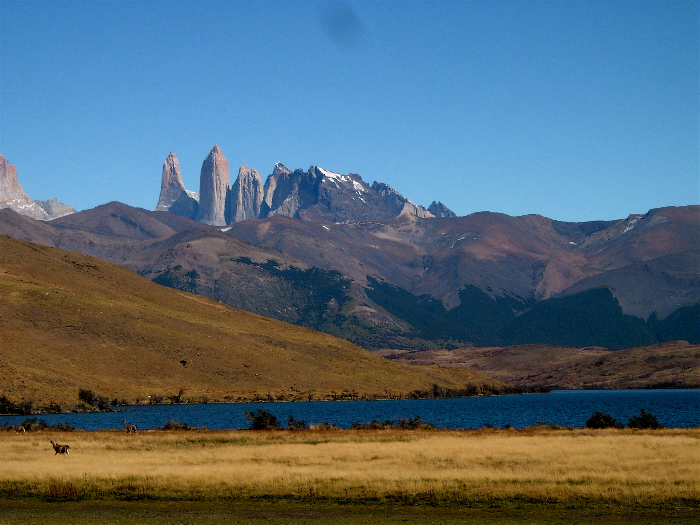 Torres del Paine from Lake Azul Patagonia 08