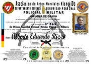2019 - DR. ALBERTO RIZZO 6º DAN
