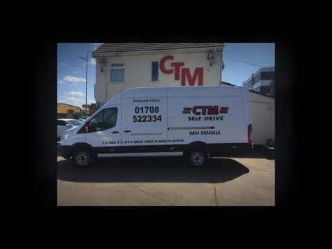 Reliable Truck and Van Hire in Essex from CTM Hire Ltd