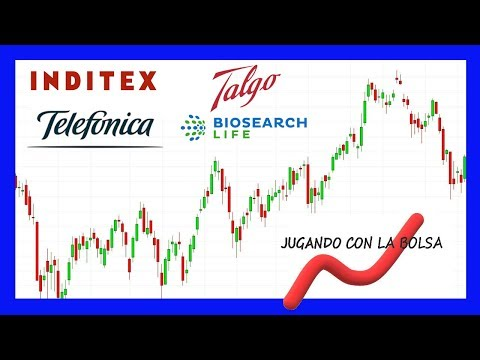 Análisis técnico de Inditex, Telefonica, Talgo y Biosearch