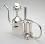 Twin Risers Teapot