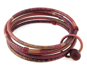 Bangles with Bead Cracked Wall Pattern