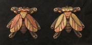 earrings flys 18kg 14kr ster