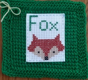 MARCH - A is for Apple - Fox