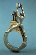 Tanous Replaces the Sacred Saphire Ring