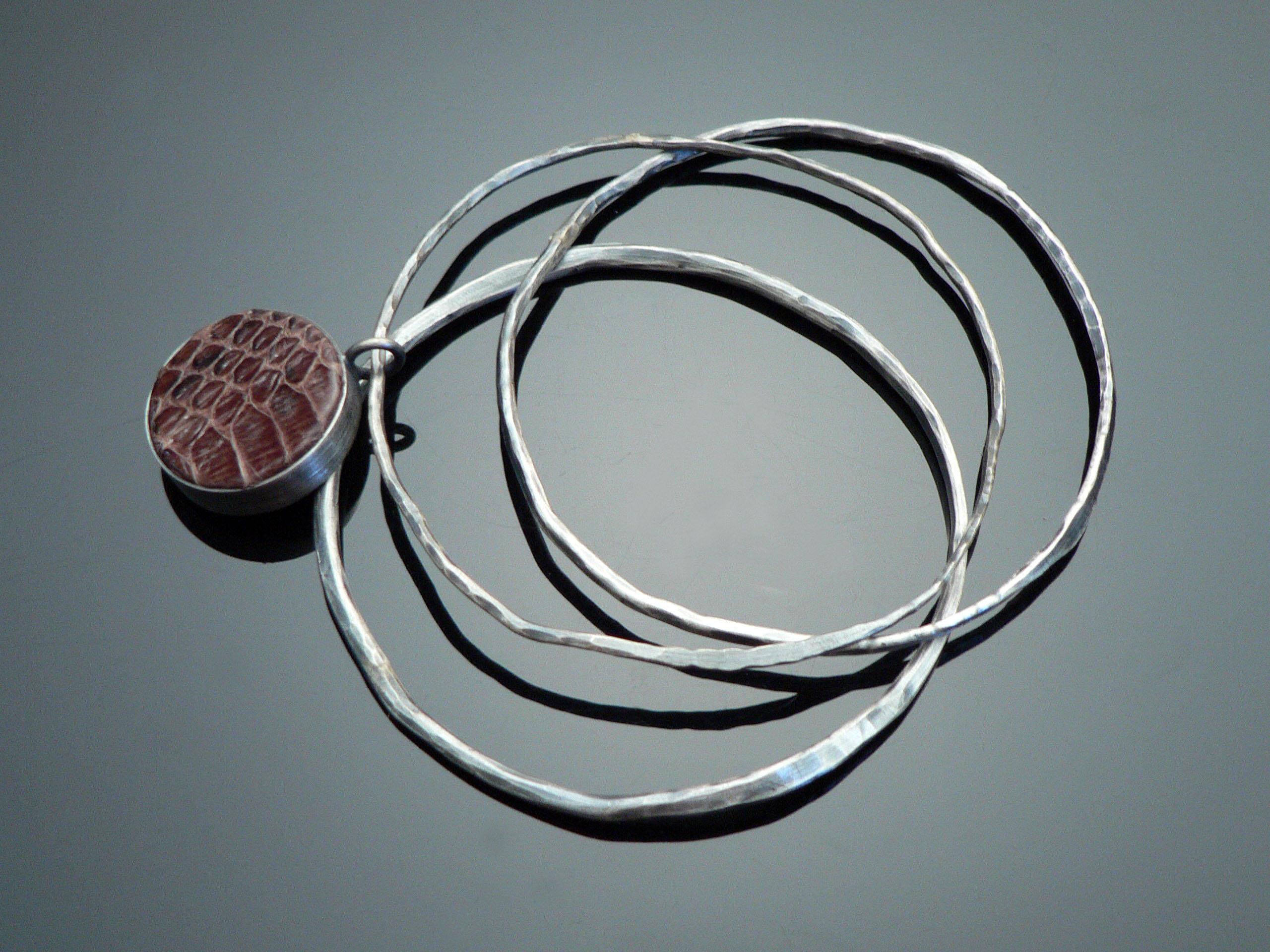 snakeskin bangles