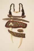 Banded Bone Necklace