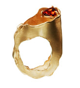 linnie mclarty_bizarrely enough gold ring