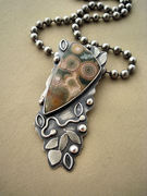 Ocean Jasper Vines Necklace