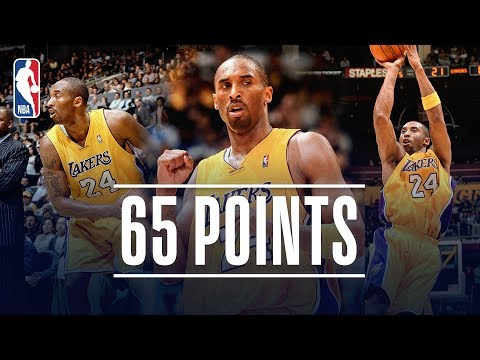 Kobe Bryant's EPIC 65 Point Performance | March 16, 2007
