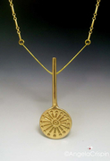 Sundial pendant