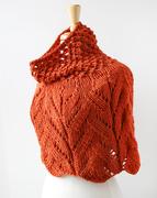 Hand-knit Merino Wool Capelet