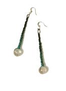 Green Ombre Earrings