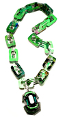 Plastic Envy - Layered Acrylic Chain Link Necklace