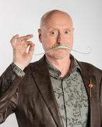 Charles Lewton-Brain_Elegant Gentleman's Prosthetic Moustache