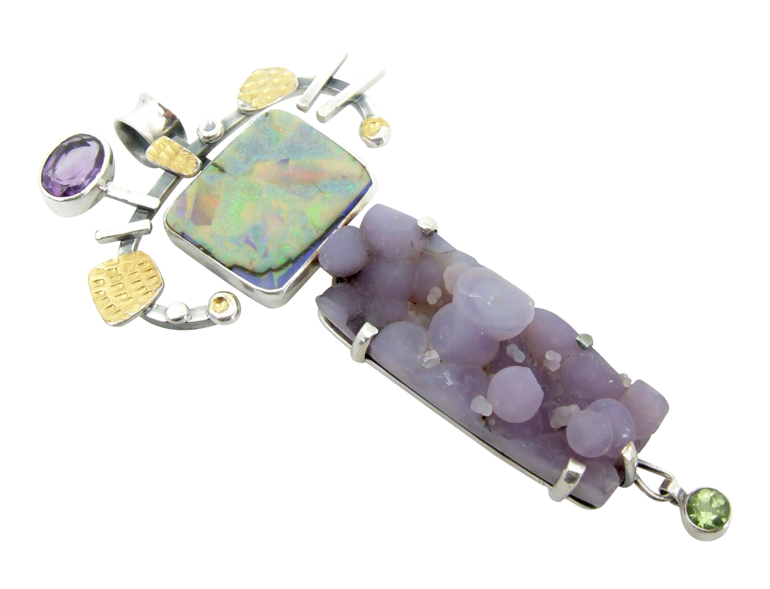 Lavender Shalako Pendant
