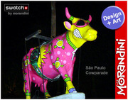 Morandini Cow Parade Swatch