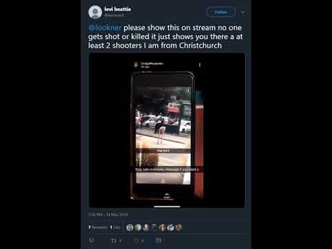 Is this Video proof of at least Two other persons involved in the New Zealand mosque massacre?