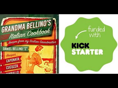 GRANDMA BELLINO ITALIAN COOKBOOK a Kickstarter Project