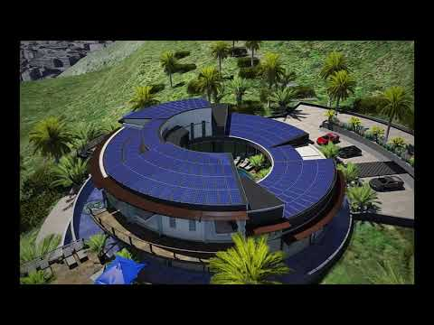 Bitcoin House Aerial view - NextGen Unveils the 1st SELF-PAYING Home Mortgage to the World pt 1-3