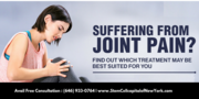 Are you suffering from joint pain?