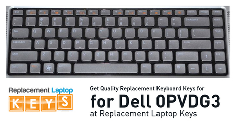 Get Quality Replacement Keyboard Keys for Dell 0PVDG3 at Replacement Laptop Keys