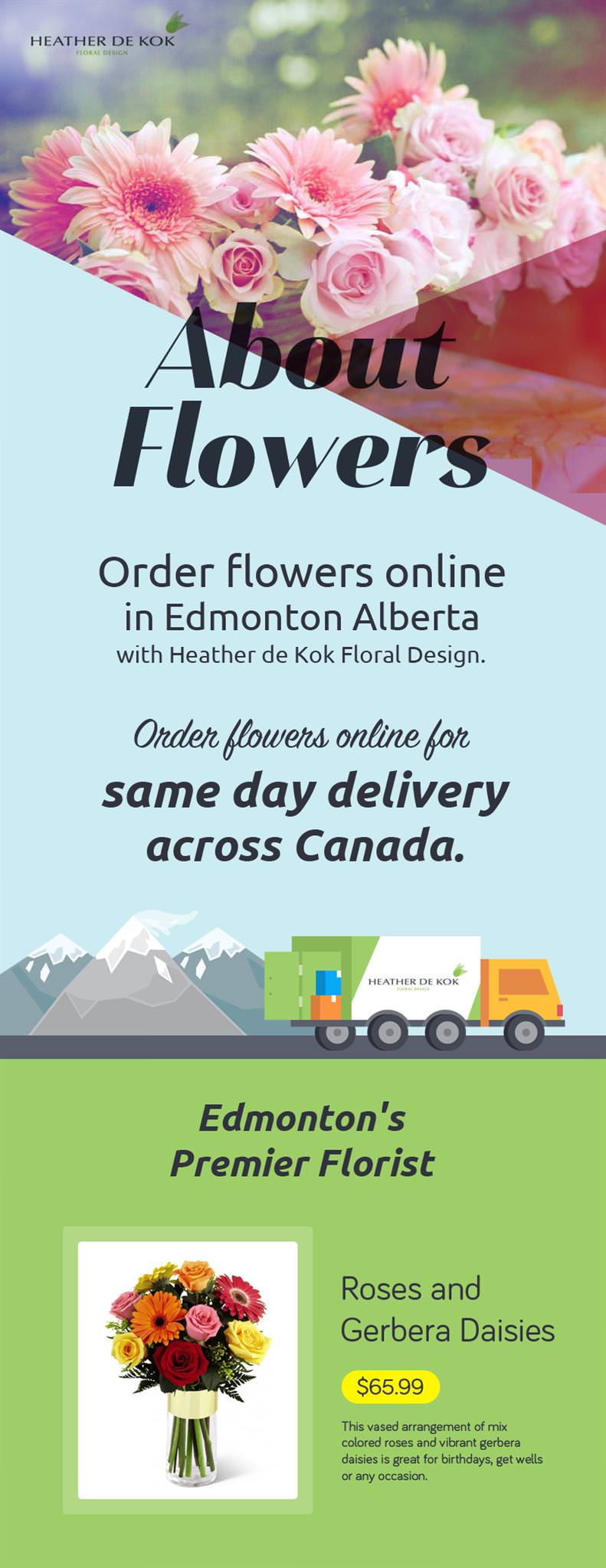 Order Fresh and Beautiful Flowers for Any Occasion from Canada Floral Delivery