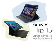 Sony Flip 15 Laptop Keyboard Key Replacement