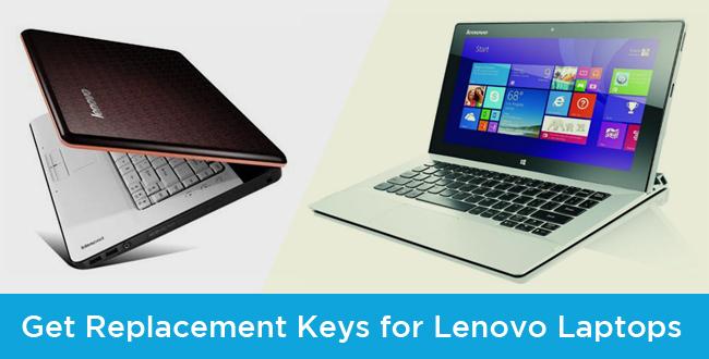 Get Replacement Keys for Lenovo Laptops