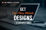 Get Top-Class Website Designs At SOS Media Corp