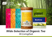 Wide Selection of Organic Tea At LivingZest