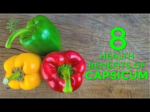 8 Health Benefits Of Capsicum | Organic Facts
