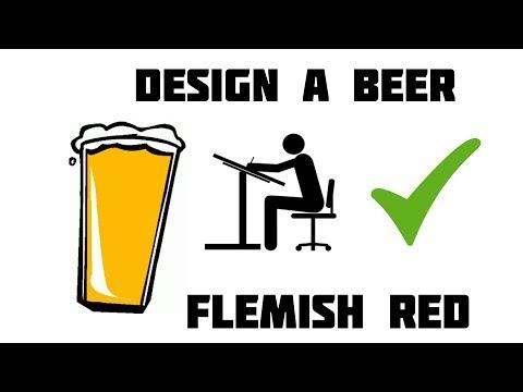Design a Beer Flemish Red