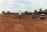 Caravan at Kalongo