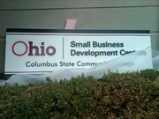 Columbus Sign Co. did a beautiful job.. vibrant color, raised logo and lettering
