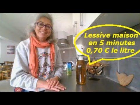 Recette lessive maison efficace prête en 5 minutes à 0,70 € le litre !!!